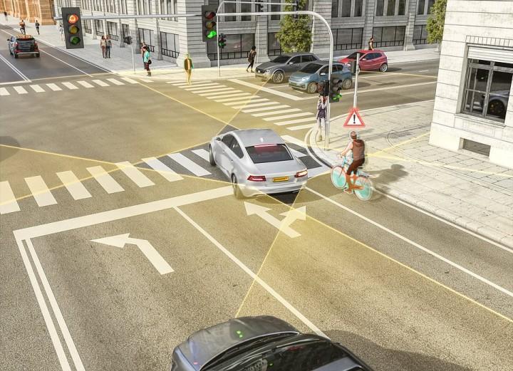 Continental ma nowy radar. Lepiej wykryje pieszych i rowerzystów