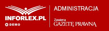 INFORLEX.PL Administracja - logo