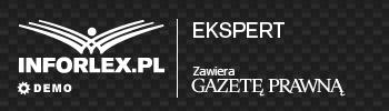 INFORLEX.PL Ekspert - logo