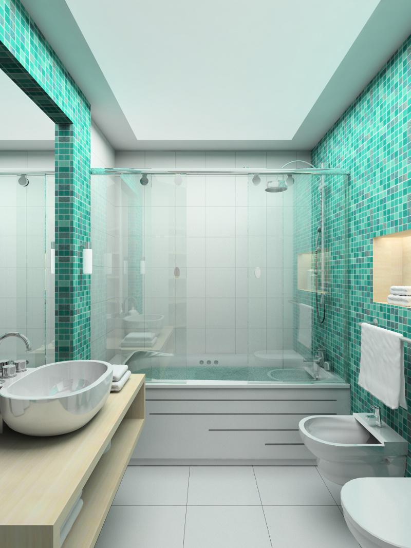 Kleine badezimmer neu