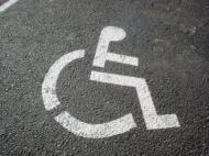 Miejsce parkingowe dla inwalidów