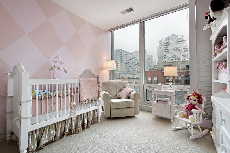 Комната в двух цветах фото