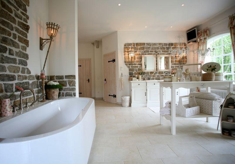Badezimmer ideen landhaus