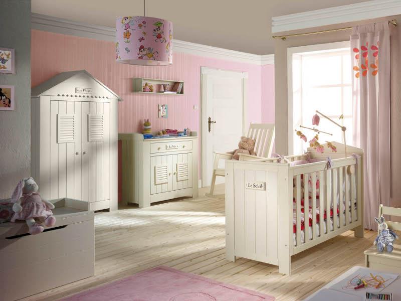Jak urz dzi pok j dla niemowlaka projekt pokoju dla - Chambre complete bebe fille ...