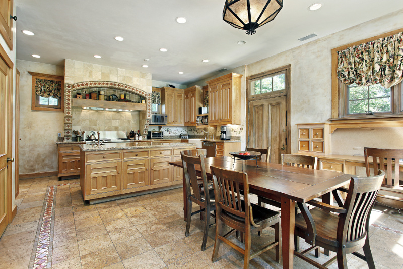 Jak zaaranżować ciepłą i przytulną kuchnię?  Projekt kuchni i jadalni  Kuch   -> Projekt Domu Kuchnia Z Jadalnia