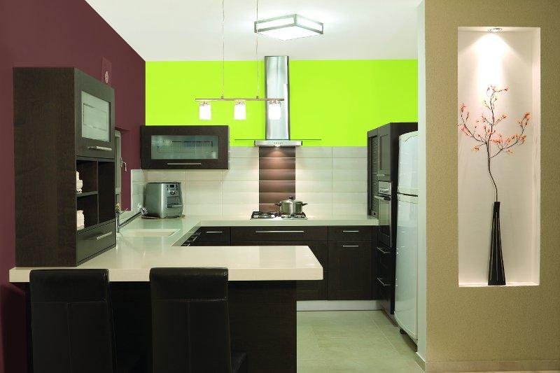 Modne kolory w kuchni lato 2012  Projekt kuchni i   -> Kuchnia Gazowa Kśt