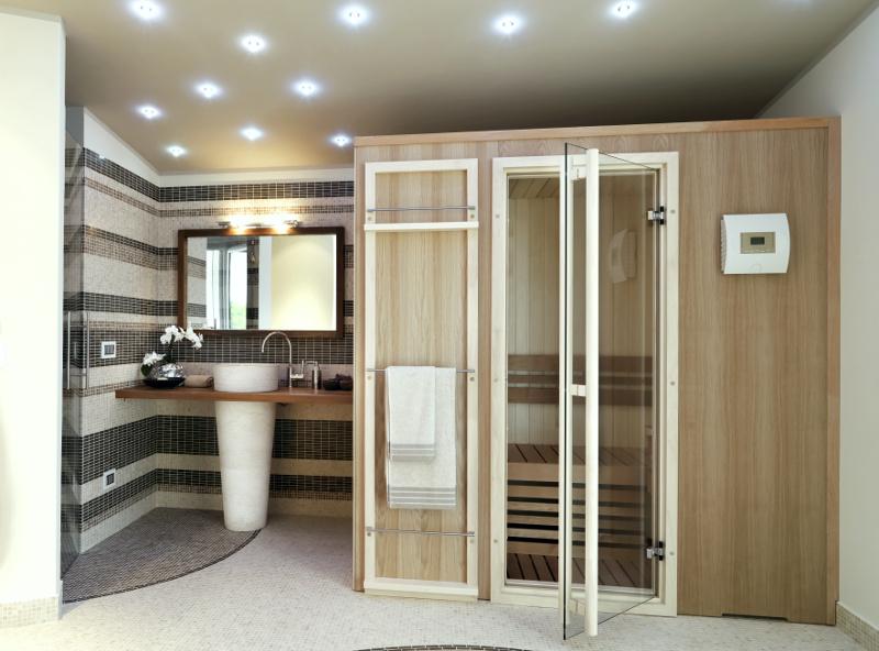 Ekspert radzi zastosowanie drewna w azience strona 2 for Bagno con piani sauna