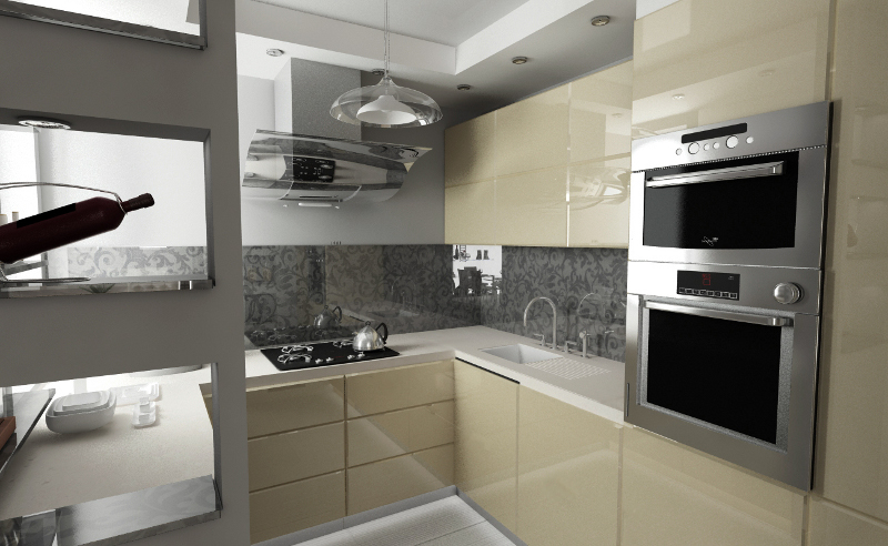 Ściana jak obraz malowana szkło  Strona 2  Kolory i   -> Kuchnia Gazowa Kśt