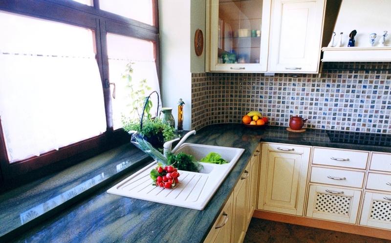 Kamień dekoracyjny – luksusowe wnętrze  Strona 2  Style   -> Kuchnia Gazowa Kśt