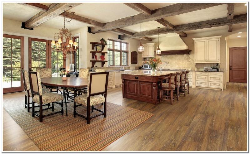 Podłoga w kuchni – drewno czy winyl?  Podłogi i ściany   -> Kuchnia Gazowa Kśt