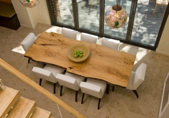 Aranżacja jadalni, czyli stół z jednego kawałka drewna   -> Kuchnia Gazowa Kśt