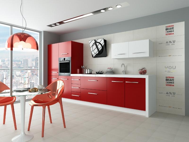 Płytki Opoczno osiem sposobów na kuchnię  Podłogi i   -> Kuchnia W Kafelkach