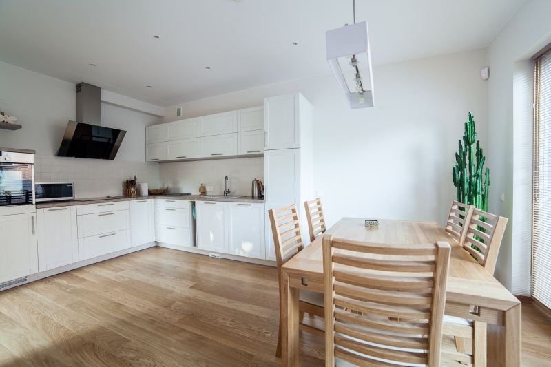 Jak przygotować mieszkanie na wynajem? Poradnik  Najem   -> Kuchnia Biala Tania