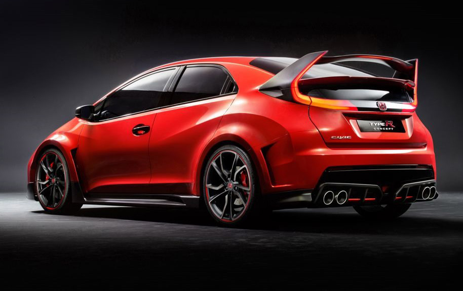 honda civic type r concept 2015 z wtcc na drogi. Black Bedroom Furniture Sets. Home Design Ideas