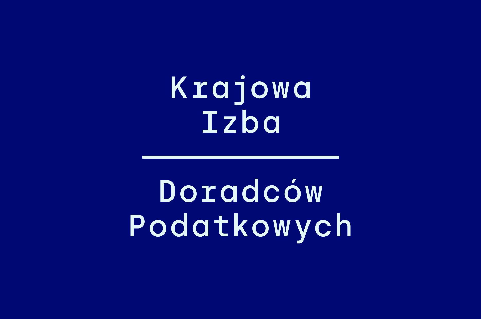Krajowa Izba Doradców Podatkowych (KIDP) - nowe logo