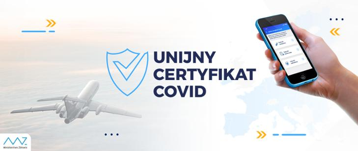 Unijny Certyfikat Covid (tzw. paszport covidowy) można już dostać w Polsce