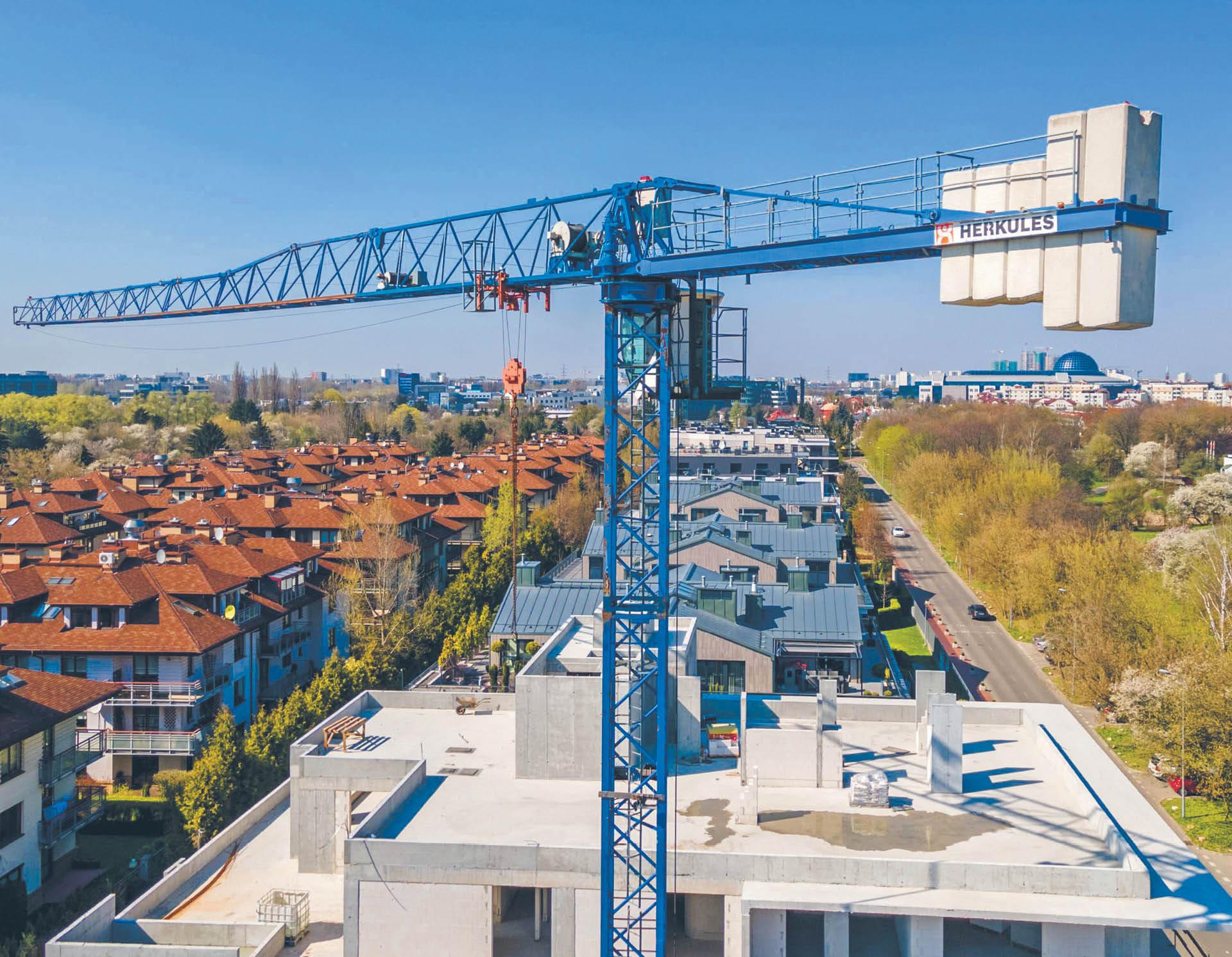 Wyniki budownictwa w sierpniu 2021 roku