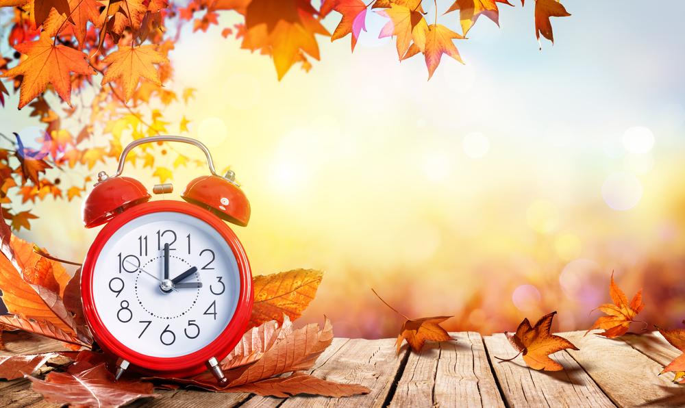 Zmiana czasu na zimowy 2021 - 30/31 październik