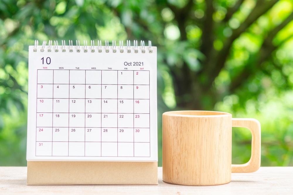 Październik 2021 r. - niedziela handlowa, kalendarz