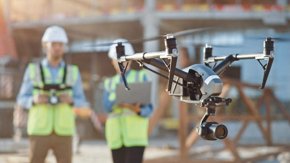 Kontrola BHP za pomocą drona? PIP