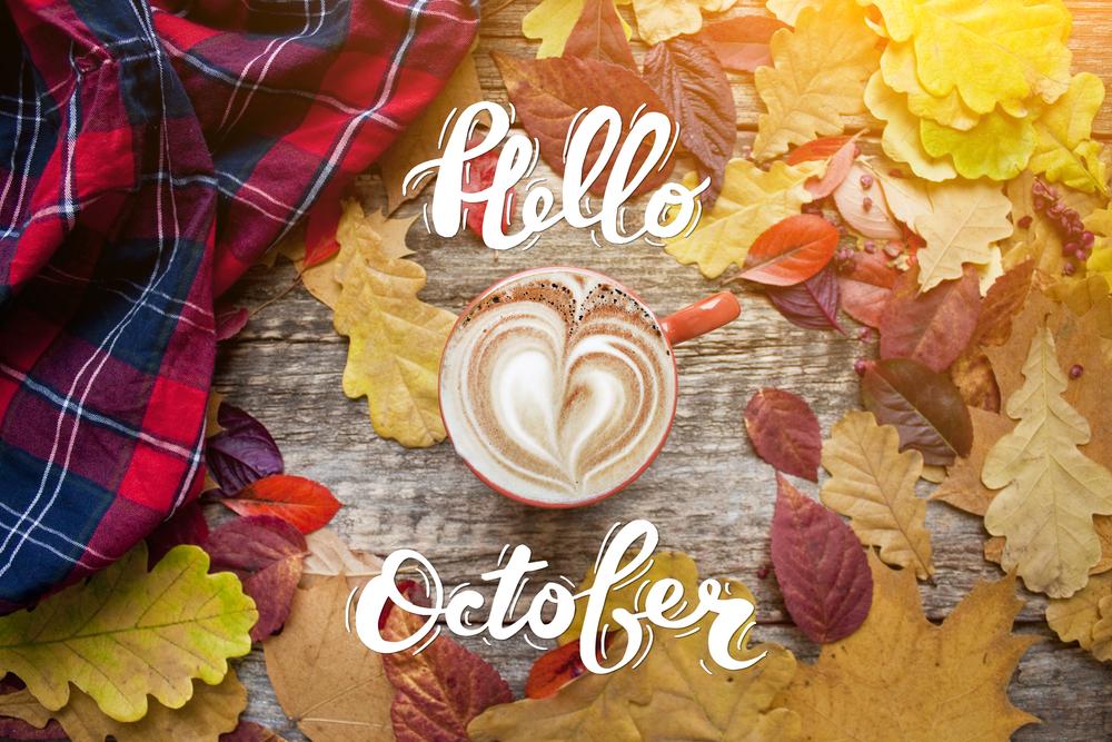 Październik 2021 - dni wolne, godziny pracy, dni robocze, kalendarz