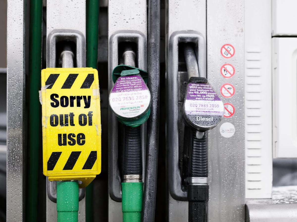 Polskę czeka brak paliwa jak w Wielkiej Brytanii?
