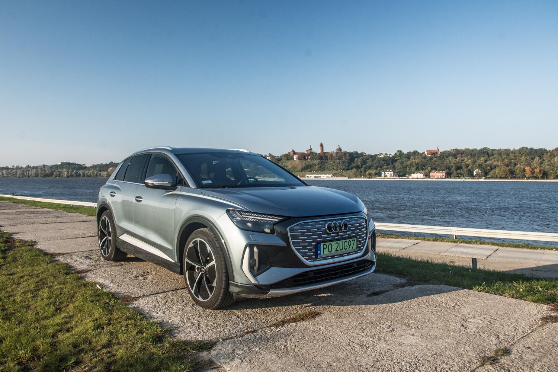 Test: Audi Q4 e-tron – elektryk, którego naprawdę da się lubić