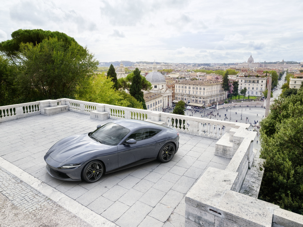 Ferrari Roma i... opony Bridgestone. Utrzymają 620 koni!