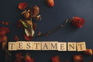 Testament for. shutterstock