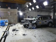 Crash test Euro NCAP - Citroen C5 Aircross