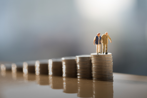 Finansowanie trzynastych emerytur w 2020 r. z funduszu dla osób niepełnosprawnych/fot.Shutterstock
