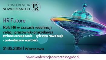 HR FUTURE - Konferencja Nowoczesnego HR - 31 maja w Warszawie