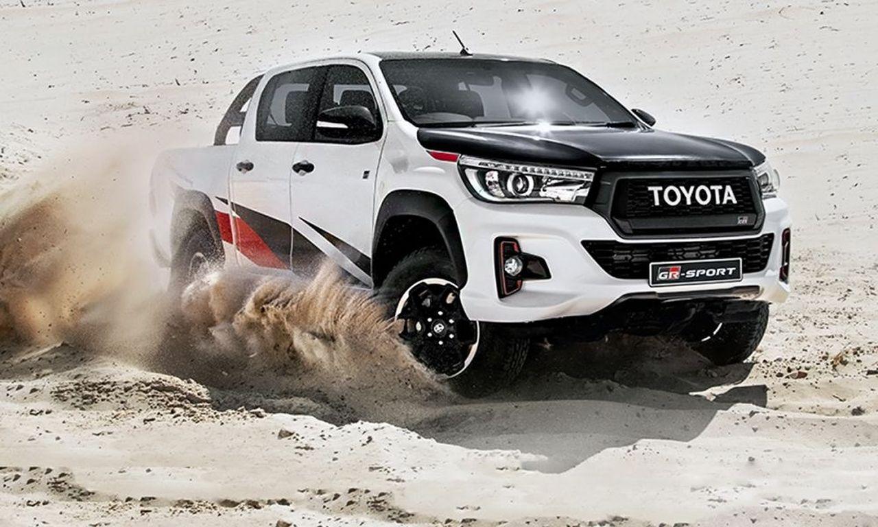 Toyota Hilux GR Sport - pick-up opracowany razem z Gazoo Racing
